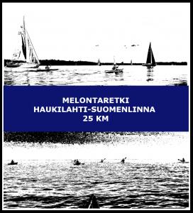 Melontaretki Haukilahti-Suomenlinna 25 km