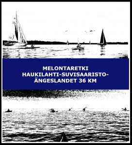 Melontaretki Haukilahti-Suvisaaristo-Ängeslandet 36 km