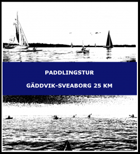 Paddlingstur Gäddvik-Sveaborg 25 km