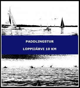 Paddlingstur Loppijärvi 10 km