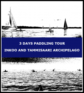 3 days paddling tour Inkoo and Tammisaari archipelago
