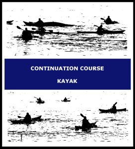 Continuation course kayak