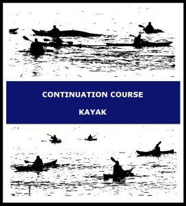 Continuation course kayak