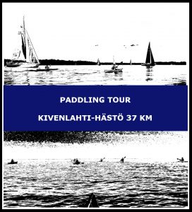 Paddling tour Kivenlahti-Hästö 37 km
